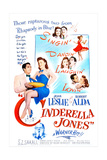 CINDERELLA JONES  US poster  middle from left: Robert Alda  Joan Leslie