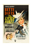 THE LITTLE FOXES  (poster art)  Bette Davis  1941