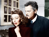 THE STRANGER  from left: Loretta Young  Orson Welles  1946