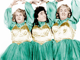 RHYTHM AND WEEP  from left: Larry Fine  Moe Howard  Curly Howard  (aka The Three Stooges)  1946
