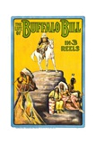THE LIFE OF BUFFALO BILL  early documentary of the legendary Westerner  1912