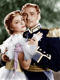 THE CHARGE OF THE LIGHT BRIGADE  from left: Olivia de Havilland  Errol Flynn  1936