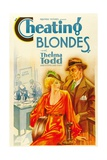 CHEATING BLONDES  left: Thelma Todd  1933