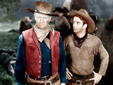 RED RIVER  from left: John Wayne  Montgomery Clift  1948