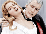 DRACULA: PRINCE OF DARKNESS  from left: Barbara Shelley  Christopher Lee  1966
