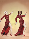 GENTLEMEN PREFER BLONDES  from left: Marilyn Monroe  Jane Russell 1953