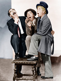 A NIGHT AT THE OPERA  from left: Groucho Marx  Chico Marx  Harpo Marx  (aka the Marx Brothers  1935