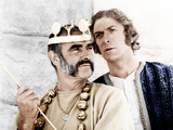 THE MAN WHO WOULD BE KING  from left: Sean Connery  Michael Caine  1975