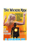 THE WICKER MAN  (aka LE DIEU D'OSIER)  Belgian poster  1973