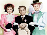 THE STRAWBERRY BLONDE  from left: Olivia De Havilland  James Cagney  Rita Hayworth  1941
