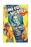 TIME OUT FOR MURDER  top center: Gloria Stuart  1938