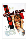 GRAND SLAM  US poster art  from top: Paul Lukas  Loretta Young  1933