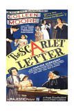 THE SCARLET LETTER  US poster  Colleen Moore (bottom left)  Hardie Albright (top right)  1934