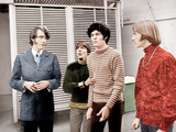 HEAD  from left: Michael Nesmith  Davy Jones  Micky Dolenz  Peter Tork  (aka The Monkees)  1968