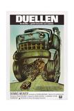 DUEL  (aka DUELLEN)  Swedish poster  1971