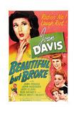 BEAUTIFUL BUT BROKE  US poster  top from left: Joan Davis  Judy Clark  Jane Frazee  1944