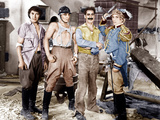 DUCK SOUP  from left: Chico Marx  Zeppo Marx  Groucho Marx  Harpo Marx  1933