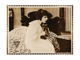 THE SOCIAL SECRETARY  Norma Talmadge on lobbycard  1916