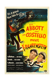 ABBOTT AND COSTELLO MEET FRANKENSTEIN  Lou Costello  Bud Abbott  1948