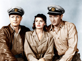 THEY WERE EXPENDABLE  from left: Robert Montgomery  Donna Reed  John Wayne  1945