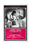 WOMAN IN LOVE  US poster  from left: Alan Bates  Oliver Reed  Jennie Linden  Glenda Jackson  1969