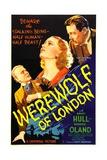 WEREWOLF OF LONDON  from left: Henry Hull  Valerie Hobson  Warner Oland  1935