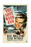 THE LOST WEEKEND  Ray Milland  'Style A' 1-sheet poster art  1945