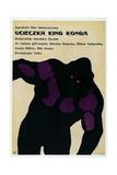 KING KONG ESCAPES  (aka UCIECZKA KING KONGA)  Polish poster  King Kong  1967