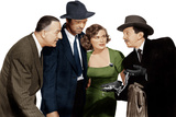 THE ASPHALT JUNGLE  from left: Louis Calhern  Sterling Hayden  Jean Hagen  Sam Jaffe  1950