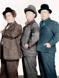 PHONY EXPRESS  from left: Larry Fine  Moe Howard  Curly Howard  (aka The Three Stooges)  1943