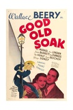 THE GOOD OLD SOAK  from left: Wallace Beery  Betty Furness  Eric Linden  1937