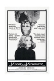 MINNIE AND MOSKOWITZ  US poster  from top: Seymour Cassel  Gena Rowlands  1971