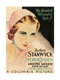 FORBIDDEN  Barbara Stanwyck  1932