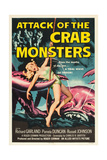 ATTACK OF THE CRAB MONSTERS  poster art  1957