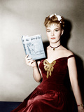 THE THREE FACES OF EVE  Joanne Woodward holding a copy of the bestseller  1957