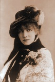 Sarah Bernhardt (1844-1923)  French actress Ca 1880