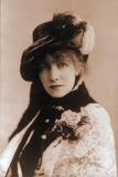 Sarah Bernhardt (1844-1923)  French actress Ca 1880