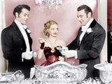 JEZEBEL  from left: Henry Fonda  Bette Davis  George Brent  1938