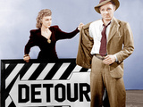 DETOUR  from left: Ann Savage  Tom Neal  1945