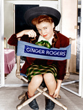 THE MAJOR AND THE MINOR  Ginger Rogers  on set  1942