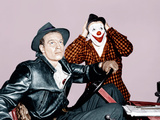 THE GREATEST SHOW ON EARTH  from left: Charlton Heston  James Stewart  1952