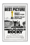 ROCKY  (poster art)  Sylvester Stallone  1976