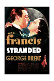 STRANDED  US poster art  from left: George Brent  Kay Francis  1935