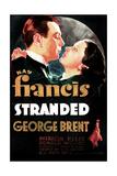 Stranded  US poster art  George Brent  Kay Francis  1935