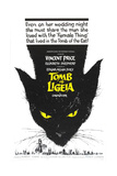 TOMB OF LIGEIA  (aka THE TOMB OF LIGEIA)  US poster  1964