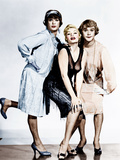 SOME LIKE IT HOT  from left: Tony Curtis  Evelyn Moriarty (Marilyn Monroe's stand-in)  Jack Lemmon