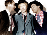 A NIGHT AT THE OPERA  from left: Groucho Marx  Harpo Marx  Chico Marx  1935