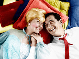 PILLOW TALK  from left: Doris Day  Rock Hudson  1959