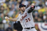 October 10  2013 - Oakland  CA: Division Series - Detroit Tigers v Oakland Athletics - Game Five