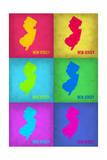 New Jersey Pop Art Map 1